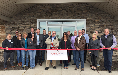 Furniture First Office Ribbon Cutting Art Scholet, Scholet Furniture,  Oneonta, N.Y. ...