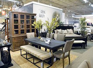grandbrands opens third ashley homestore furniture today