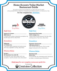 High Restaurant Guide