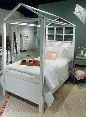 Magnolia Kids house-inspired bed