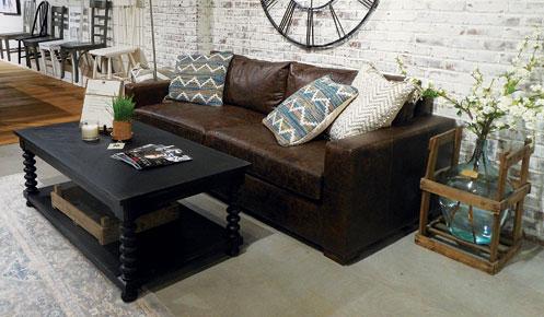 Delicieux Magnolia Home Leather Sofa