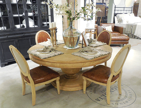 Magnolia Home round dining table