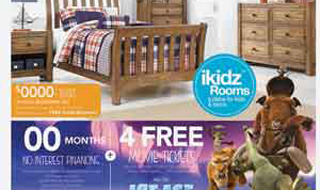 ikidz from Ashley with Ice Age ads