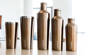 Corkcicle Canteen and Tumbler