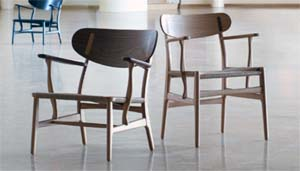 Carl Hansen & Son Wegner chairs