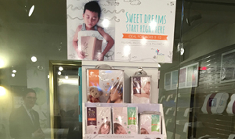 PureCare kids display