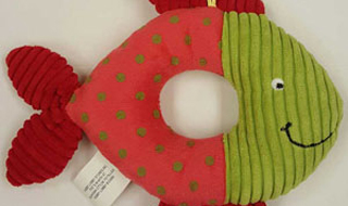 Little Wishes Infant Rattle recalled