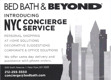 Bed Bath And Beyond Home Delivery Nyc