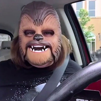 Chewbacca Mom Gets A Lesson From J.J