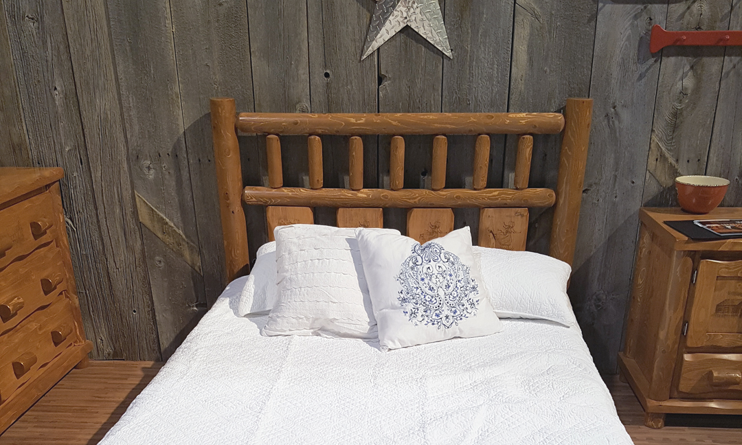 Twin bed from Dundalk LeisureCraft new line Little House on the Prairie