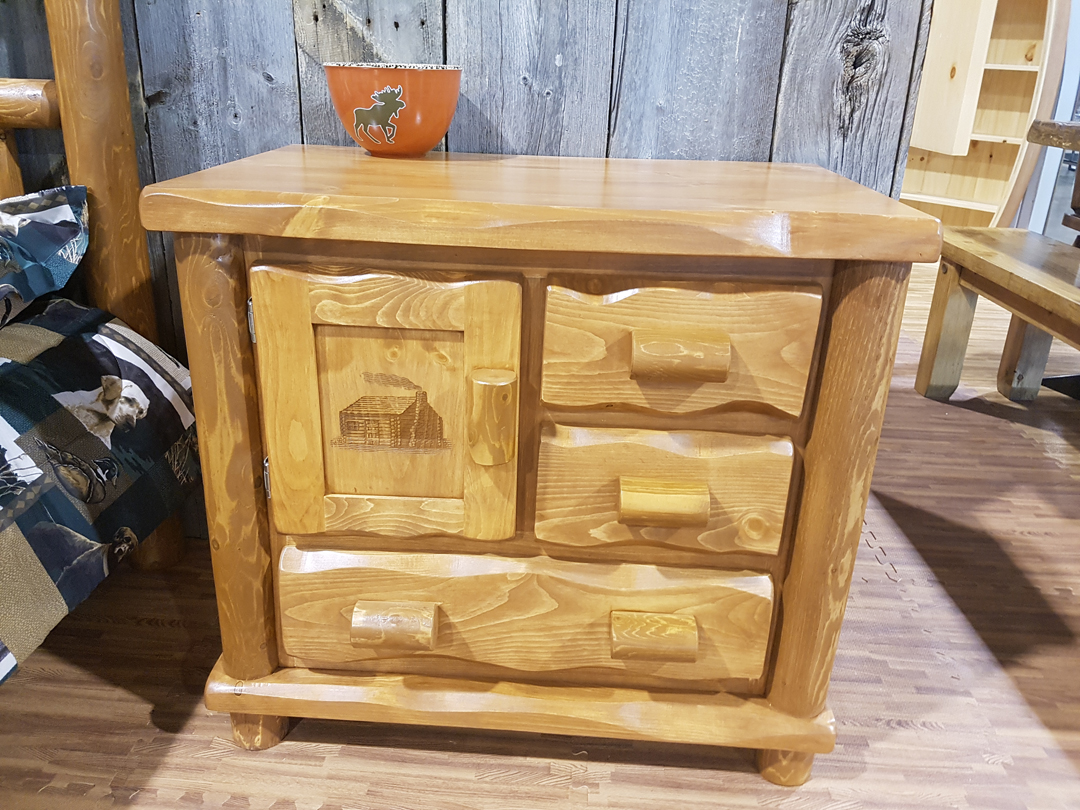 Marvelous Nightstand From Dundalk LeisureCraft New Line Little House On The Prairie