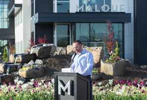 Malouf opened its new headquarters in mid-June.