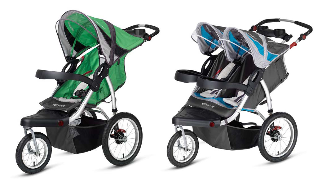 Pacific Cycle recall on jogging strollers