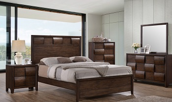 Spectacular This bedroom is one of five that will be available as part of a new mixed container program being offered by TC Home A four piece set retails at