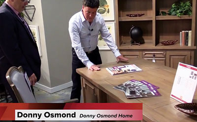 Donny Osmond's take on home office