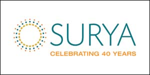 Surya 40th logo