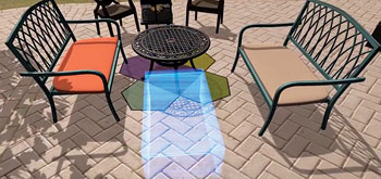 Wayfair patio app