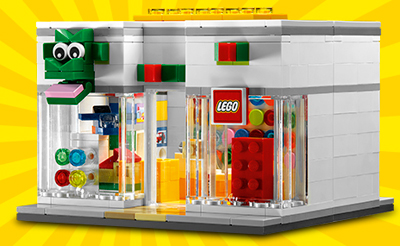new lego store