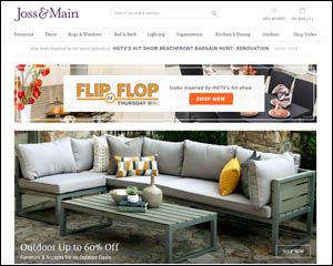 Joss & Main Promotes Outdoor Furnishings on 'Flip or Flop