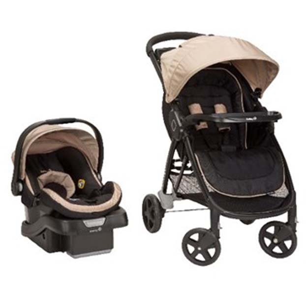 Safety 1st's Step and Go Travel Systems strollers