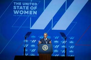 President Barack Obama United State of Women