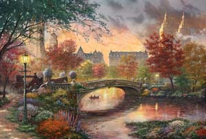 Thomas Kinkade license with PTM