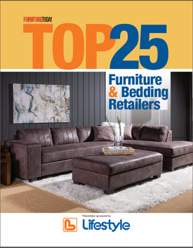 Top 25 furniture and bedding retailers for 2016 for Furniture sales today