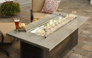 Outdoor greatroom company introduces new fire table for Great outdoor room company
