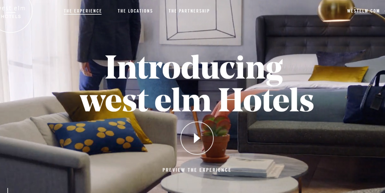 West Elm To Enter Hotel Business Home Accents Today