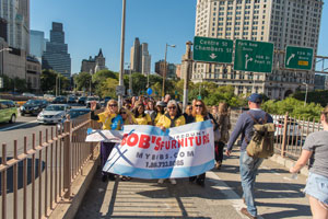 Bob S Discount Furniture Participates Pajama Program Sleep Walk