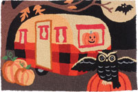 Spooky Trailer Jelly Bean Rugs