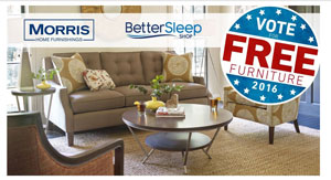 69 Ohio Voter Turnout Could Mean Free Furniture For Morris Customers Furniture Today