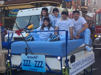 tempur bed race