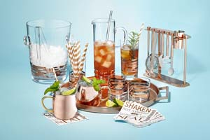 Martha Stewart copper barware