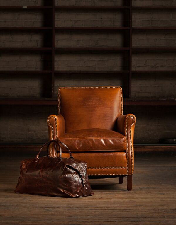 Moore giles introduces leather 101 furniture today for Moore and giles furniture