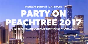 Party on Peachtree logo
