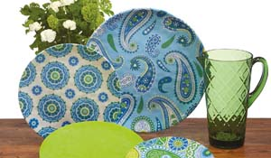 Certified International Boho dinnerware