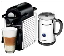 Small appliances get smaller home furnishings news - Pixie target nespresso ...