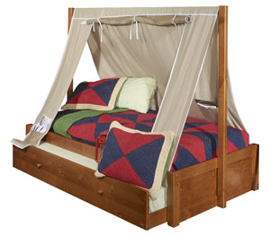 Powell tent bed