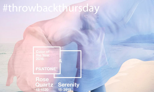 Throwback Thursday: Last Year's Pantone Results