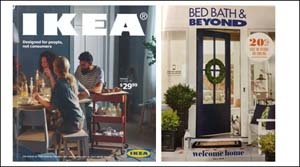 Bed Bath & Beyond_Ikea catalog covers