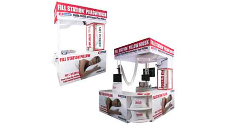 Fill Station Pillow Kiosk