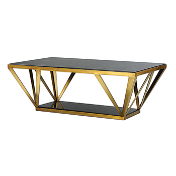 Gilded Home cocktail table