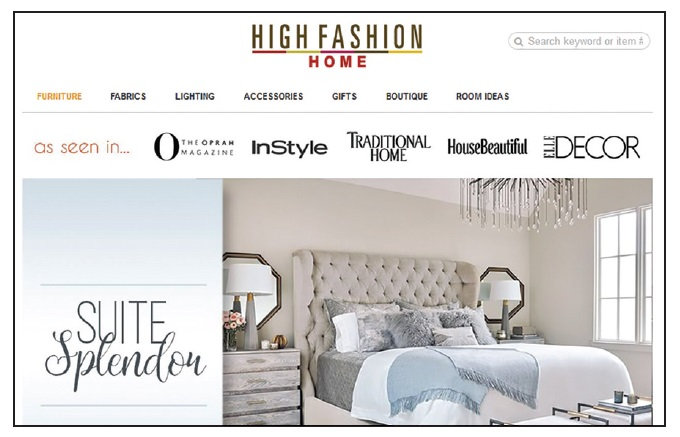 Bricks to Clicks High Fashion Home