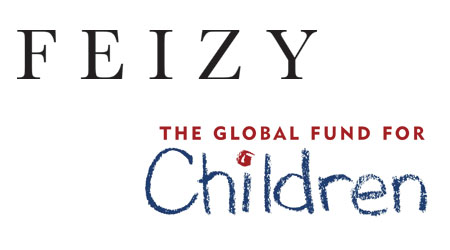 Feizy donated to The Global Fund for Children.