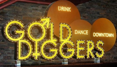 gold diggers lounge