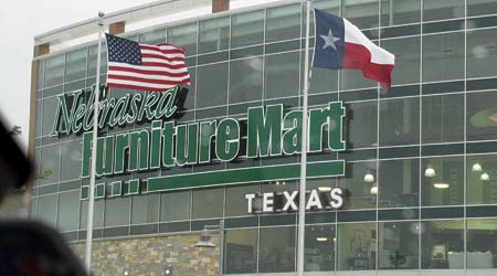 Nebraska Furniture Mart storefront