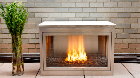 NEW YORK U2013 HearthCabinet Ventless Fireplaces Offers An Alternative To  Traditional Fire Pits With An Enclosed Design And Gel Cartridge Fuel.