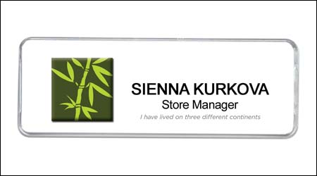 CustomizedNameBadge