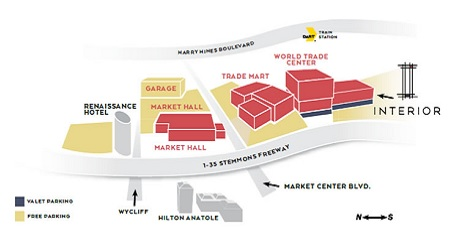 interior design center map